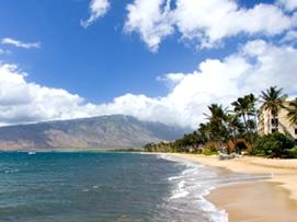 キヘイ:ハレアカラ周辺の10kmほど続くビーチ